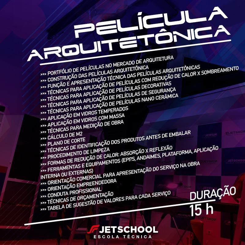 CURSO DE PELÍCULA ARQUITETÔNICA - 15 HORAS