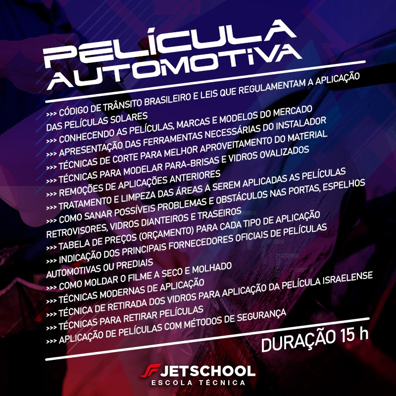 CURSO DE PELÍCULA AUTOMOTIVA - 15 HORAS
