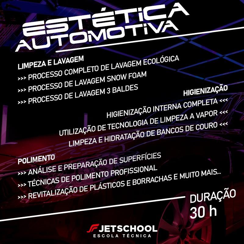 CURSO TÉCNICO DE ESTÉTICA AUTOMOTIVA - 15 HORAS