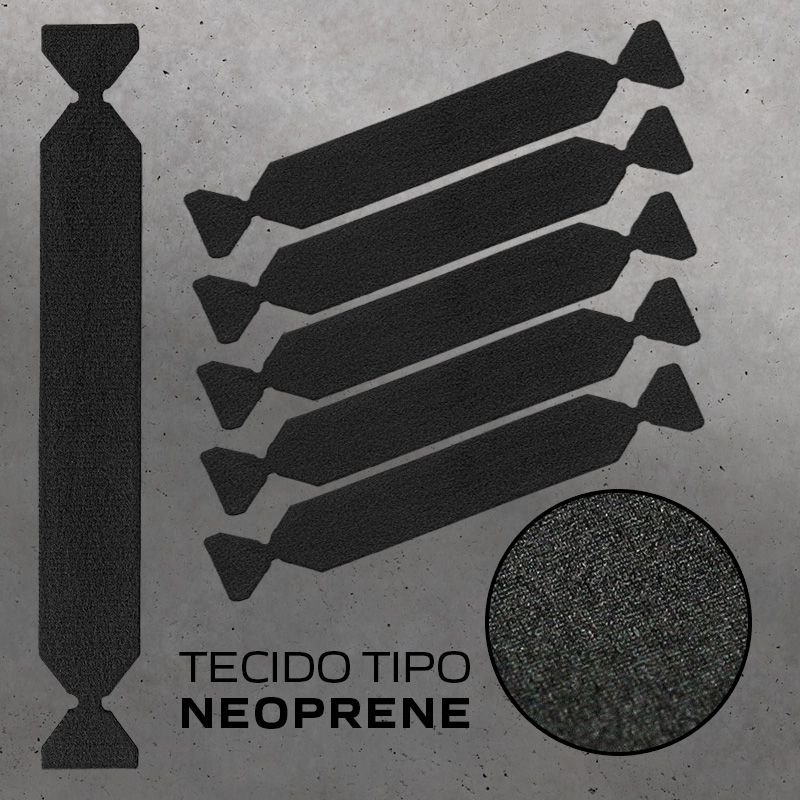 FELTRO PARA ESPATULA BUFFER BLACK EDGE DOUBLE 10CM - JOKER