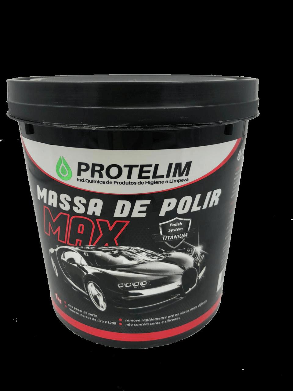 MASSA DE POLIR MAX N°2 1KG - PROTELIM