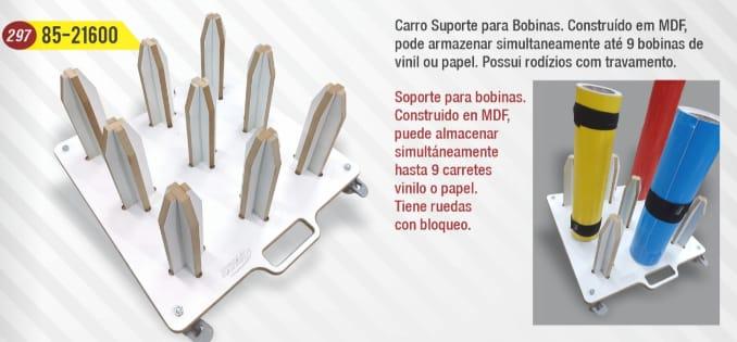 SUPORTE PARA BOBINAS EX-FACILITY 85-21600