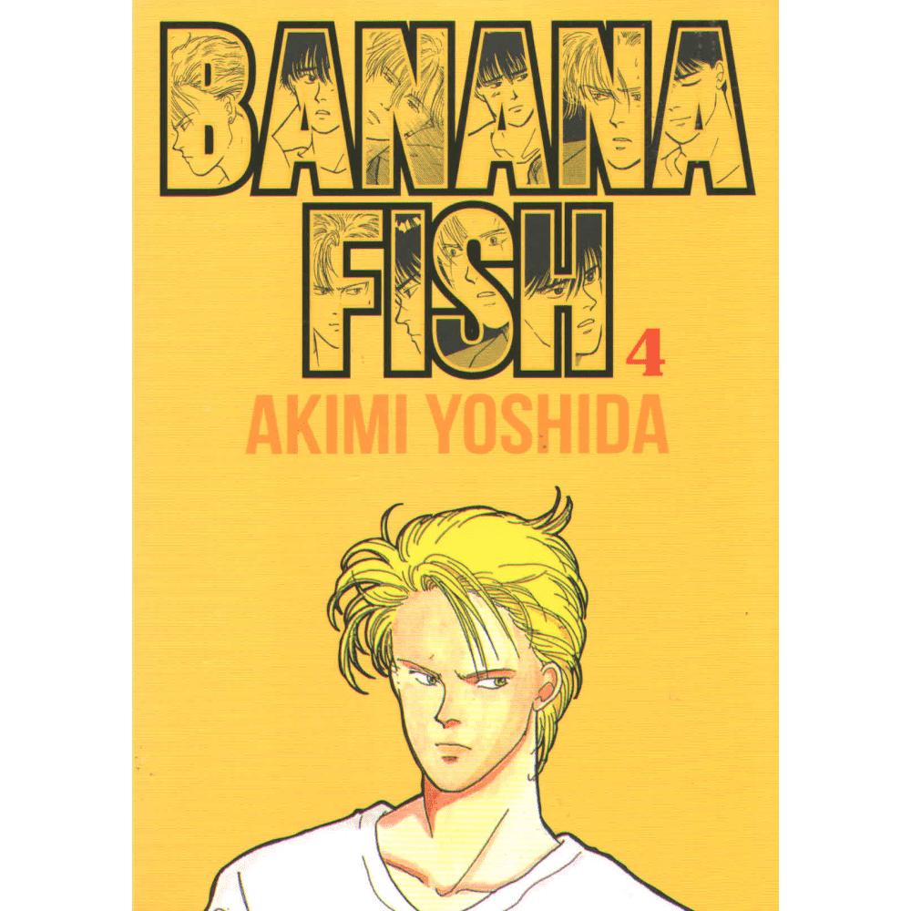 Banana Fish vol. 4 - Escrito em Português