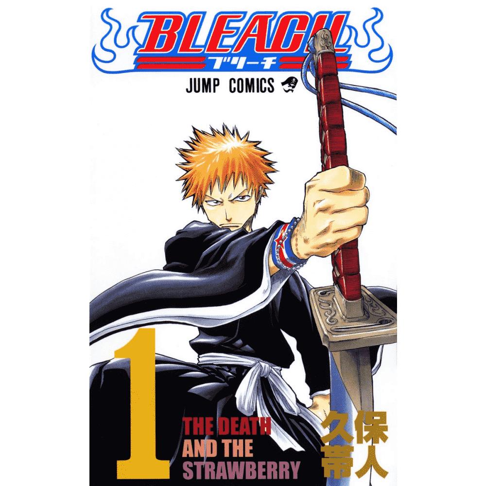 BLEACH vol.1 - Escrito em japonês