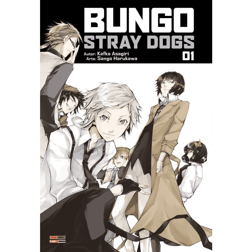 Bungo Stray Dogs vol.1 - Escrito em português