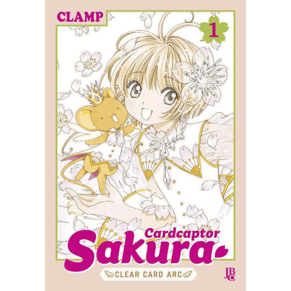 Cardcaptor Sakura vol.1 - Escrito em português