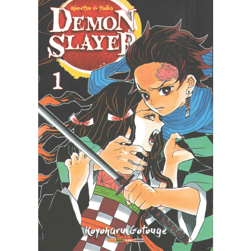 Demon Slayer vol. 1 - Escrito em português