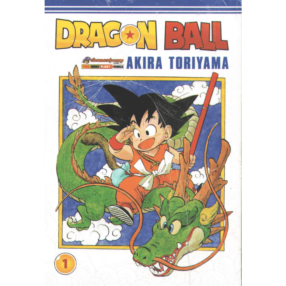 Dragon Ball vol. 1 -  Escrito em português