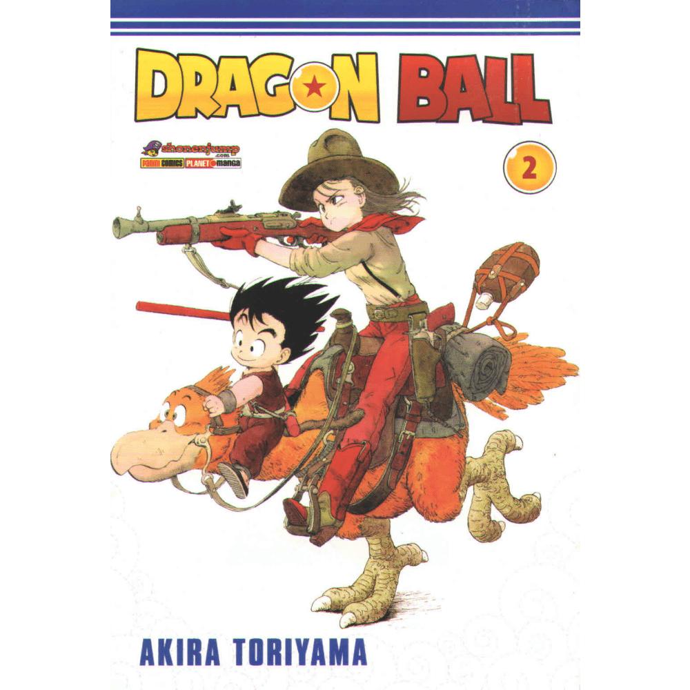 Dragon Ball vol. 2 - Escrito em potuguês