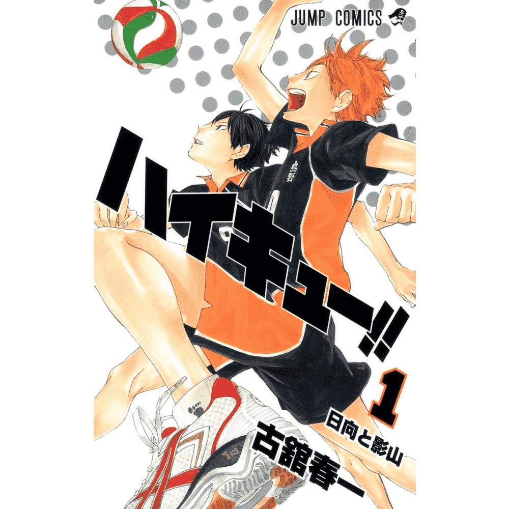 Haikyu! vol.1 - Escrito em japonês