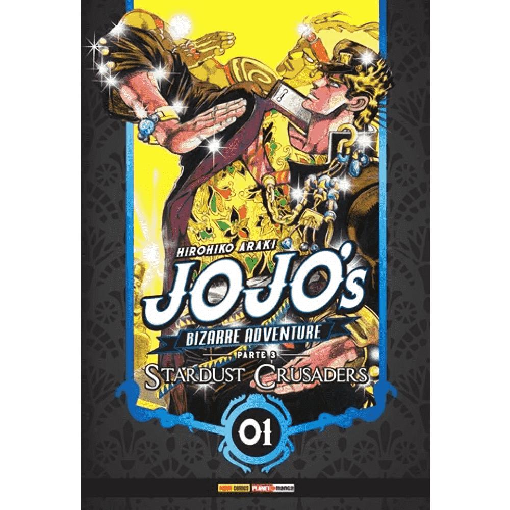 Jojo's Bizarre Adventure Parte 3 vol.1 - Escrito em português