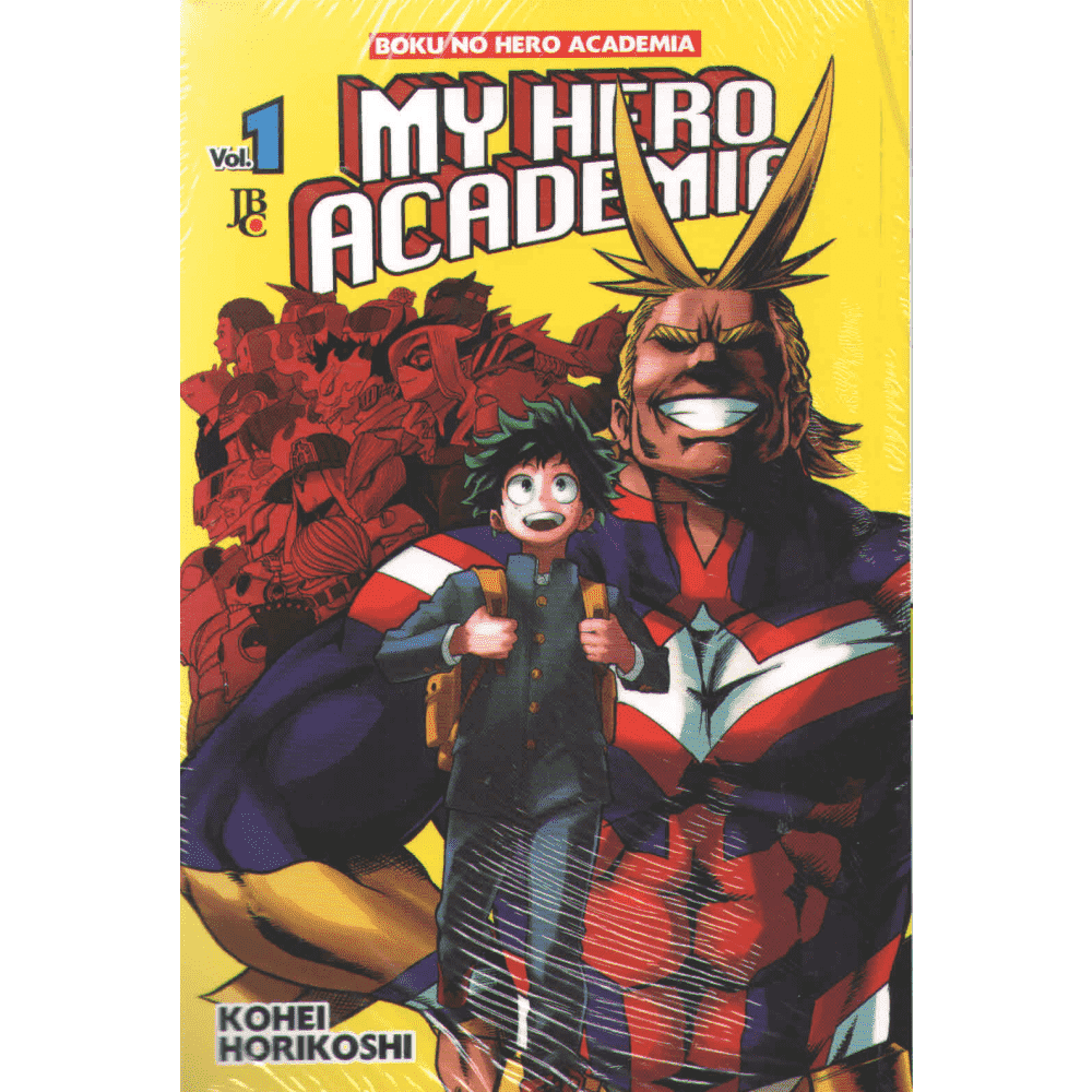 My Hero Academia vol 1 - Escrito em Português