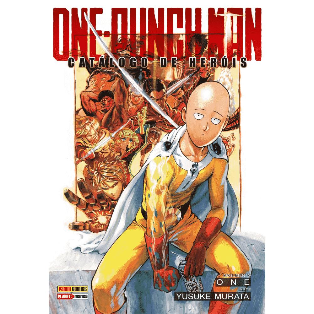 ONE-PUNCH MAN Catálogo de Heróis - Escrito em português