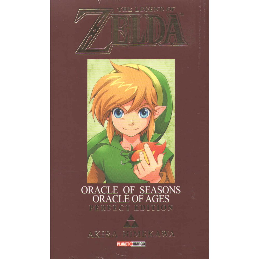 The legend of Zelda Oracle of Seasons Oracle of ages Perfect Edition - Escrito em Português