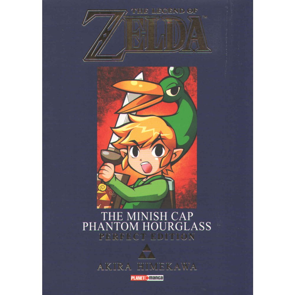 The legend of Zelda The minish cap Phantom Hourglass Perfect Edition - Escrito em Português