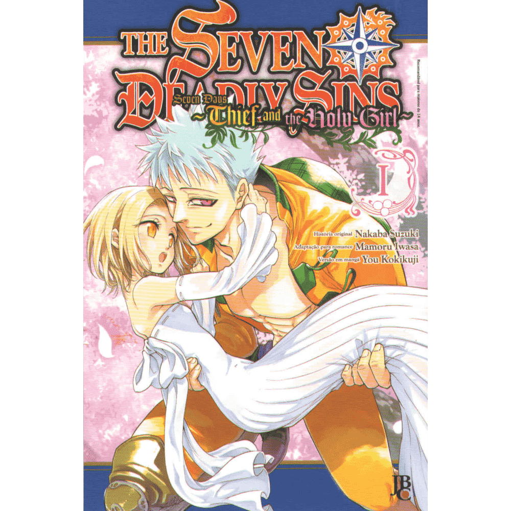 The Seven deadly sins, seven days - Thief and the Holy Girl vol.1 - Escrito em Português