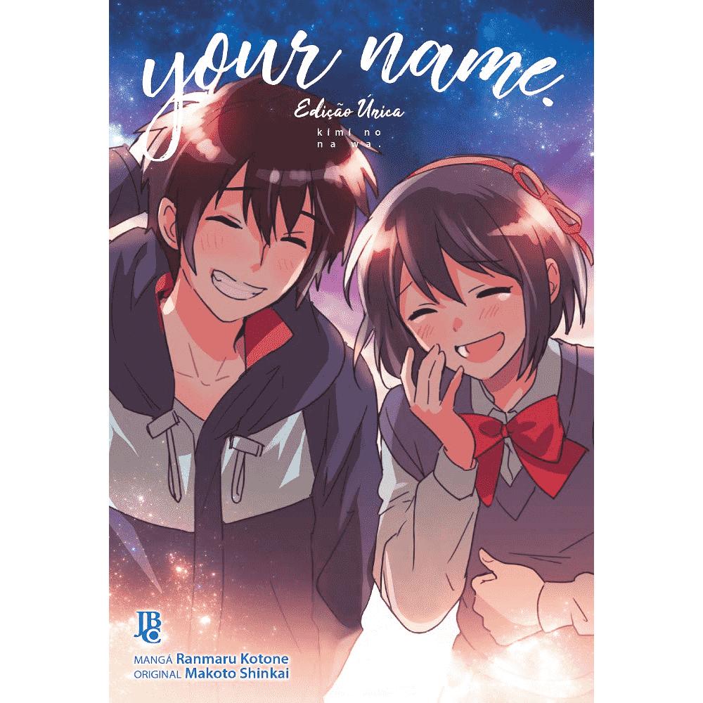 Your name - Edição única - escrito em português
