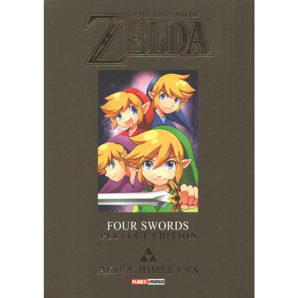 The legend of Zelda Four Swords Perfect Edition - Escrito em português