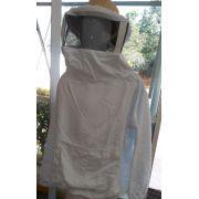 Jaqueta apícola visor nylon Brim Branco
