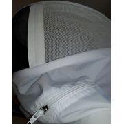 Jaqueta de nylon c/ refrigeração branco