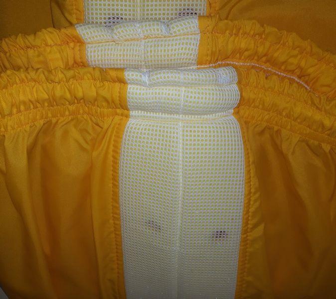 Calça de nylon c/ refrigeração amarelo