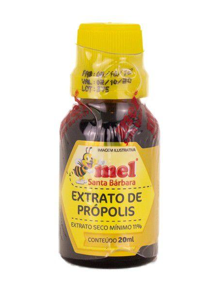 06 Extratos de própolis 11% - 20ml