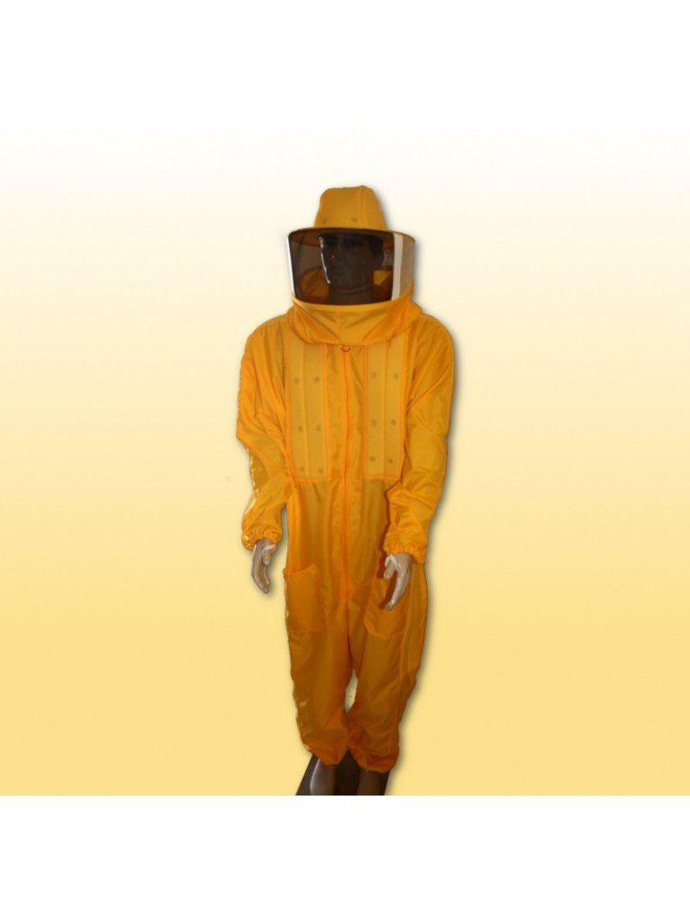 Macacão c/ refrigeração nylon amarelo