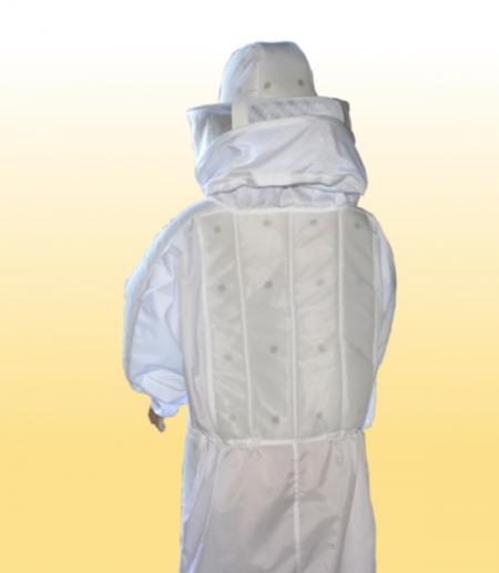 Macacão c/ refrigeração nylon branco
