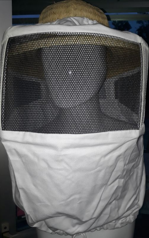 Máscara avulsa p/ apicultor visor arame