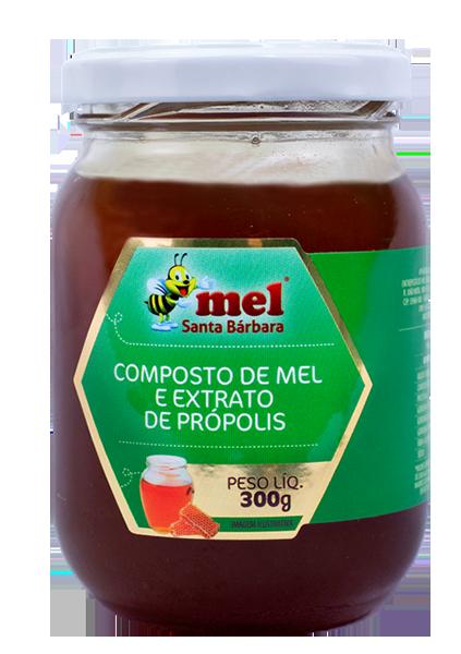 Mel com Extrato de Própolis - 300g