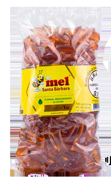 Sachê de mel natural em pacote  - 1kg