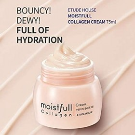 ETUDE HOUSE Moistfull Collagen Cream 75ml Nova fórmula