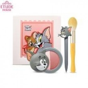 ETUDE HOUSE X Tom and Jerry Lucky Together Edition Tom's Cool Color Cheek Set 3 items