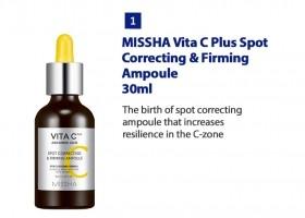MISSHA VITA C PLUS Spot Correcting & Firming Ampoule 30ml