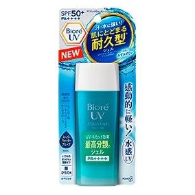 Bioré Aqua rich watery gel FPS50+ PA+++ protetor solar 90ml
