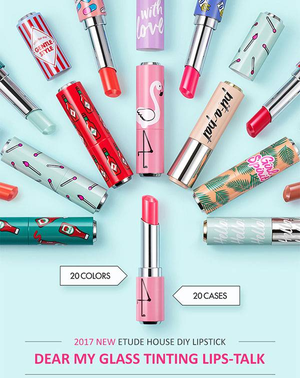 ETUDE HOUSE Glass Tinting Lips-Talk Case unit