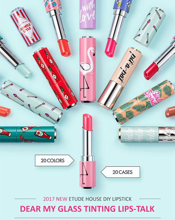 ETUDE HOUSE Glass Tinting Lips-Talk Case unit