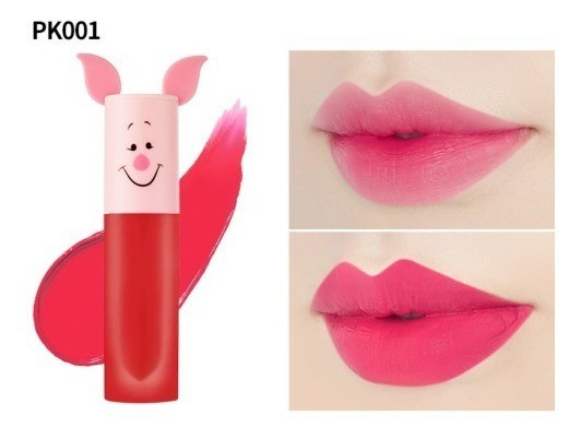 ETUDE HOUSE Happy With Piglet Color In Liquid Lips Air Mousse cor PK001