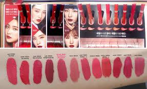 ETUDE HOUSE Matte Chic Lip Lacquer Red Velvet