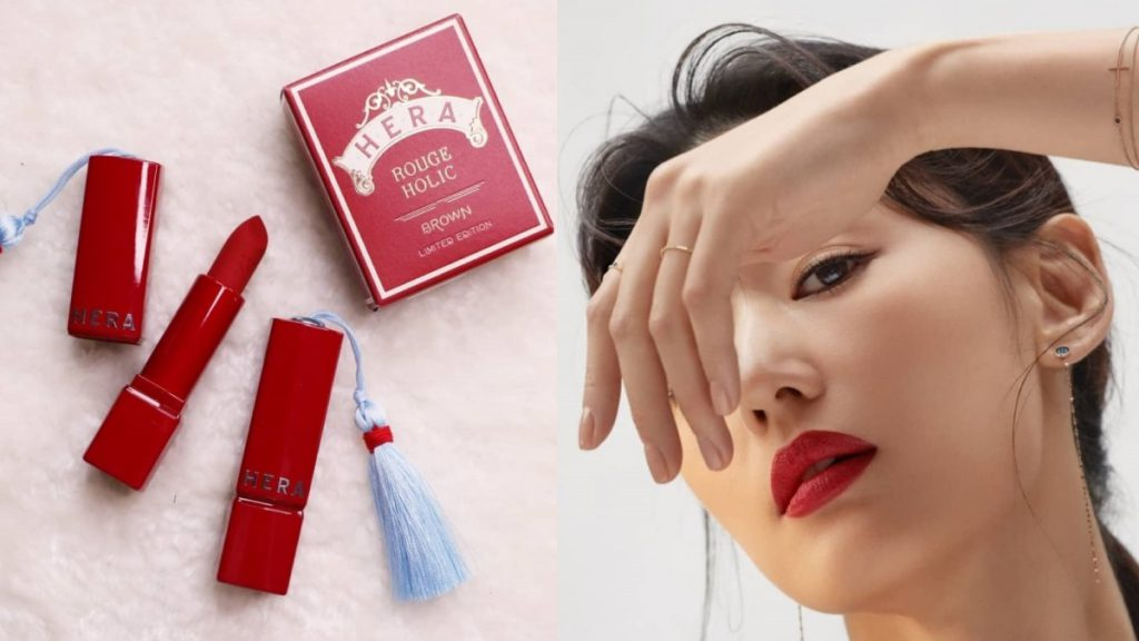 HERA Rouge Holic [2019 Holiday Collection Roll the Dice] cor Red 344