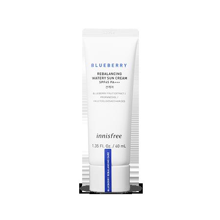 INNISFREE Blueberry Rebalancing Watery Sun Cream SPF45 PA+++ 40ml