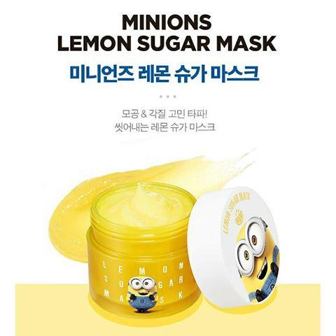 MINIONS Lemon Sugar Mask 120g