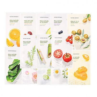 NATURE REPUBLIC Real Nature Mask Sheet 23ml