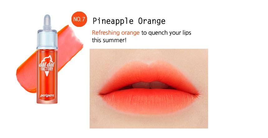 Peripera Ink Gelato (DALDAL FACTORY) Pineapple Orange