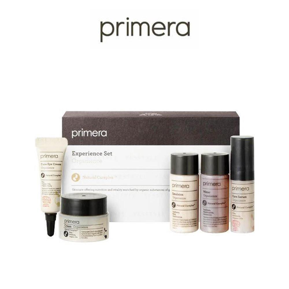 Primera Experience Set Organience - Kit miniatura com 5 itens