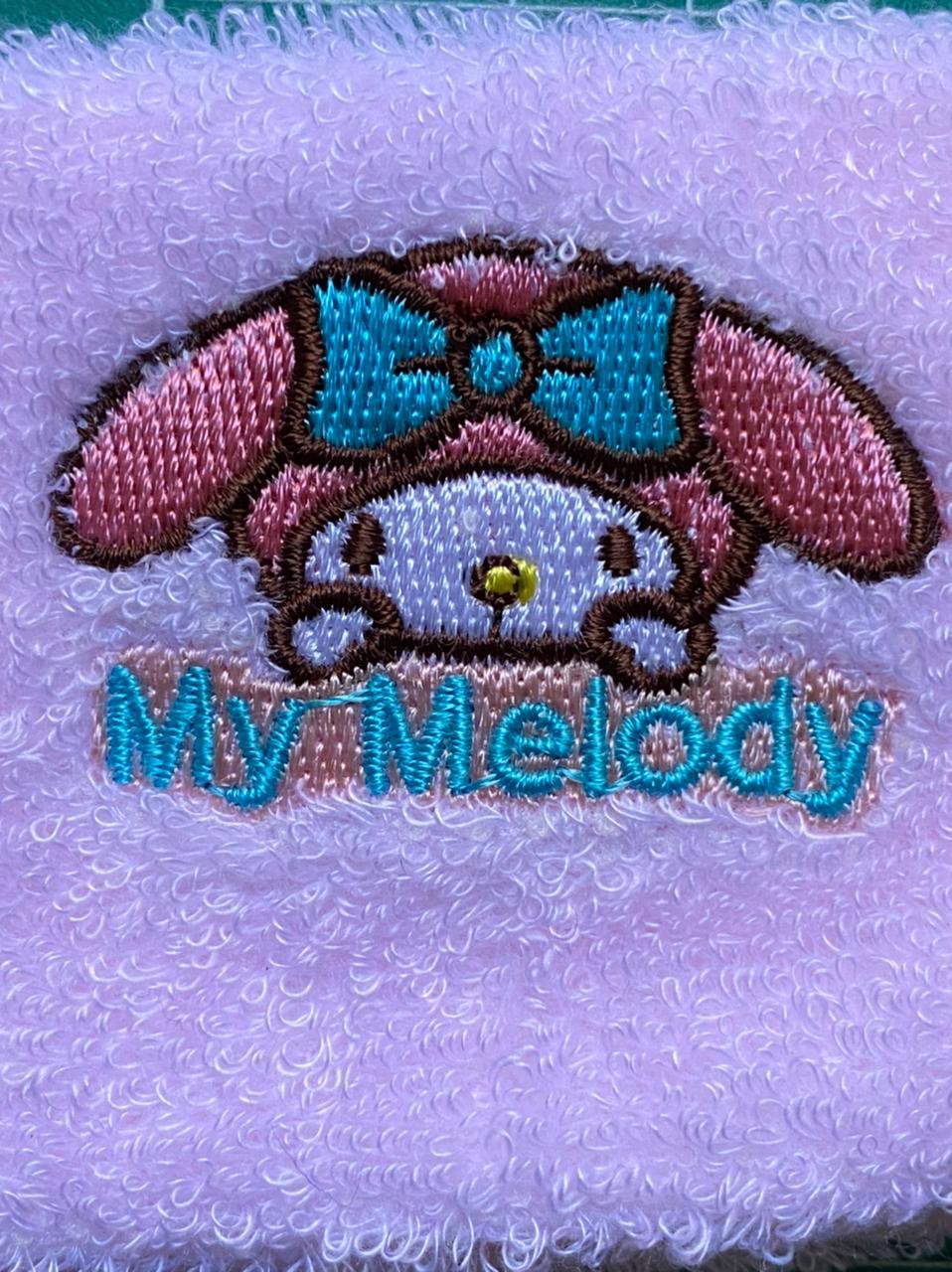 Sanrio Faixa para cabelo Microfibra My Mellody