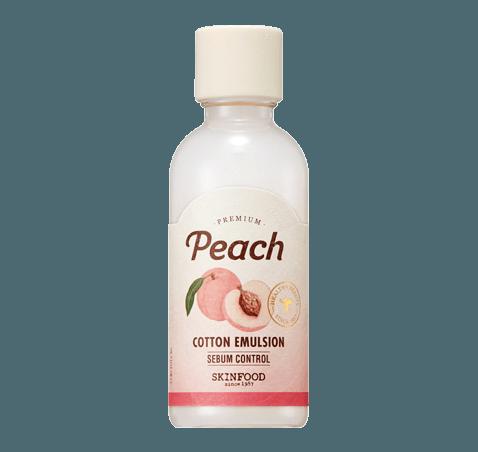 Skinfood Premium Peach Cotton Emulsion 160ml