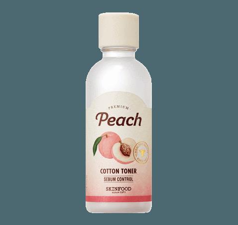 Skinfood Premium Peach Cotton Toner 180ml