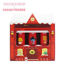 THE FACE SHOP KAKAO FRIENDS Little Friends Kit Batons Kit My little red