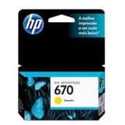 CARTUCHO HP 670 AMARELO